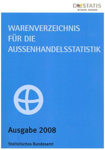 Warenverzeichnis für die Außenhandelsstatistik 2008
