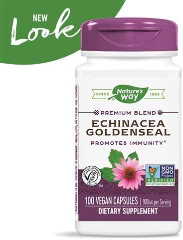 Natures Way, Echinacea Goldenseal Root, 100 Capsules
