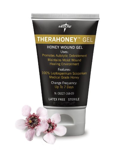 Medline MNK0005H TheraHoney Gel Honey Dressings, 0.5oz. by Medline