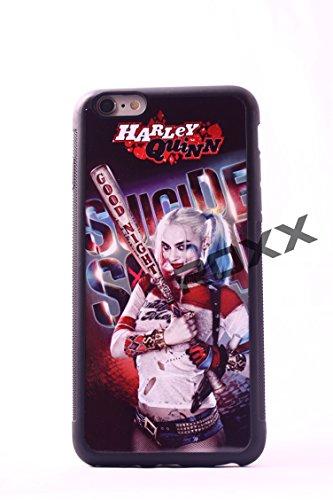 Harley Quinn Logo- iPhone 6+/6s+ PLUS ROXX iPhone 6+/6s+ PLUS-Suicide Squad Rubber Grip Case iPhone 6+