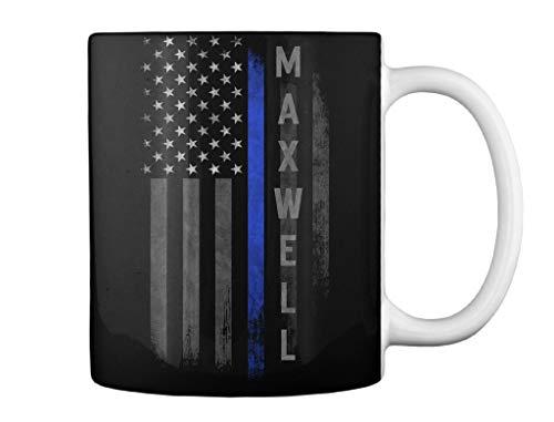 Maxwell family thin blue line Mug - Teespring Mug