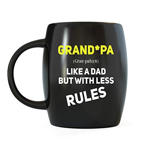 Sweatshirt Name Valentine (Father's Day Gifts for Grandpa Like A Dad But With Less Rules Funny Novelty Gag Gift for Grandfather World's Best Awesome Gramps Ever for Christmas or Birthday Ceramic Coffee Mug Tea Cup)