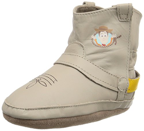 Robeez Baby Old School Mickey, Woody Taupe, 12-18 Months M US Infant]()