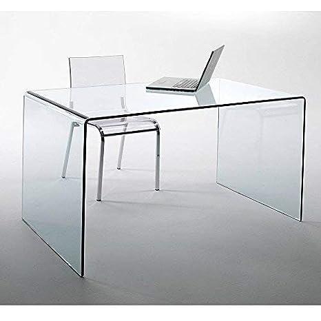 Scrivania Di Vetro.Lounge Zone Design Vetro Scrivania Villa Fromgebogenes Vetro