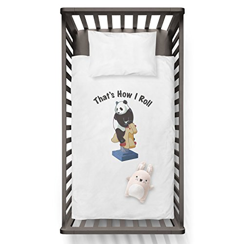 That's how i roll! Funny Humor Hip Baby Duvet /Pillow set,Toddler Duvet,Oeko-Tex,Personalized duvet and pillow,Oraganic,gift by Jobhome