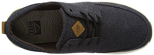 Reef Mens Rover Low Tx Fashion Sneaker Nero / Gengiva