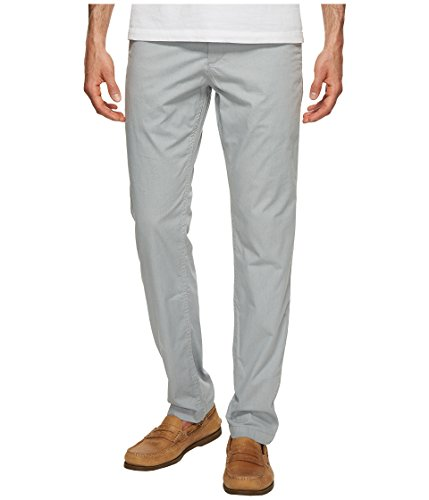 Dockers Men's Washed Khaki Slim Tapered Fit Pants, Ridley Andalucian Gray, 36 30