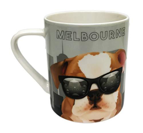 Mini Mob International Cities Melboure Bulldog Novelty 370 ml Coffee Tea Coco Drink Gift ()