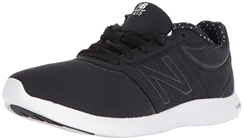 New Balance Women's 415v1 Lifestyle Sneaker, Grey/White, 5 D US