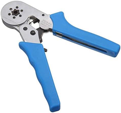 プライヤーツール圧着工具自動調整式ラチェットフェルールワイヤークリンパープライヤー8 6-60.25-6.0mm²ハードウェアツールキット