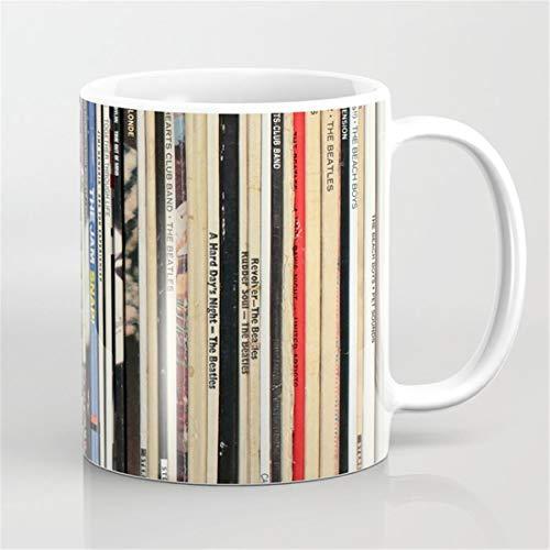 Classic Rock Vinyl Records Coffee Mug,Vinyl Records concert Mug,music Mug