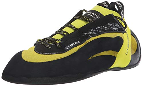 La Sportiva Men's Miura Climbing Shoe, Lime, 41