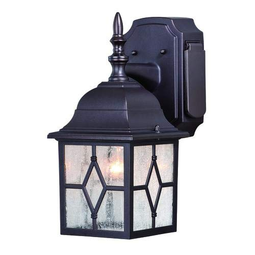 Outdoor Porch Light With Electrical Outlet in US - 6