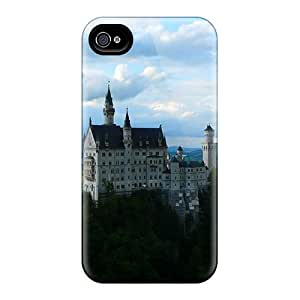 Mjdavis Case Cover Protector Specially Made For Iphone 4/4s Neuschwanstein Castle Bavarian Germany