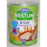 Nestum, Cereal 5 Prebio, 8.81-Ounce (12 Pack)