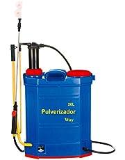 Pulverizador 2x1 Elétrico e Manual 2 em 1 Costal 20 Litros Bateria Recarregável IWP2X1-020