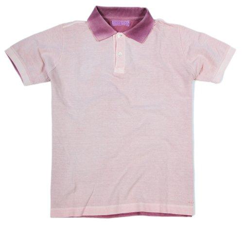 Alpha by Massimo Rebecchi Herren Polo Shirt 10041379-Rosa