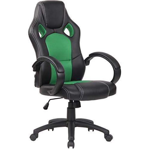 414bZUJC9YL. SS500 CARACTERÍSTICAS: La silla Gaming Fire tiene un acolchado de alta calidad y mezcla el tapizado en cuero sintético y tela para ofrecer un plus de comodidad. La silla tiene un estilo deportivo, es regulable en altura, giratoria e incluye un mecanismo de balanceo para ofrecer más libertad de movimientos. POSTURA SALUDABLE: Con la silla gaming Fire se consigue mantener una postura cómoda durante largos periodos de tiempo, además, gracia a su diseño claro y sus definidas formas hacen que se adapte perfectamente a la postura de trabajo. Ofreciendo así el máximo confort. DIMENSIONES: La silla Gaming tiene las siguientes medidas: Altura total: 110 - 120 cm I Ancho total: 62 cm I Profundidad total: 66 cm I Altura del asiento: 49 - 59 cm I Profundidad del asiento: 50 cm I Altura del respaldo: 71 cm I Altura del resposabrazos des del suelo: 72 - 82 cm I Peso: 16 kg.