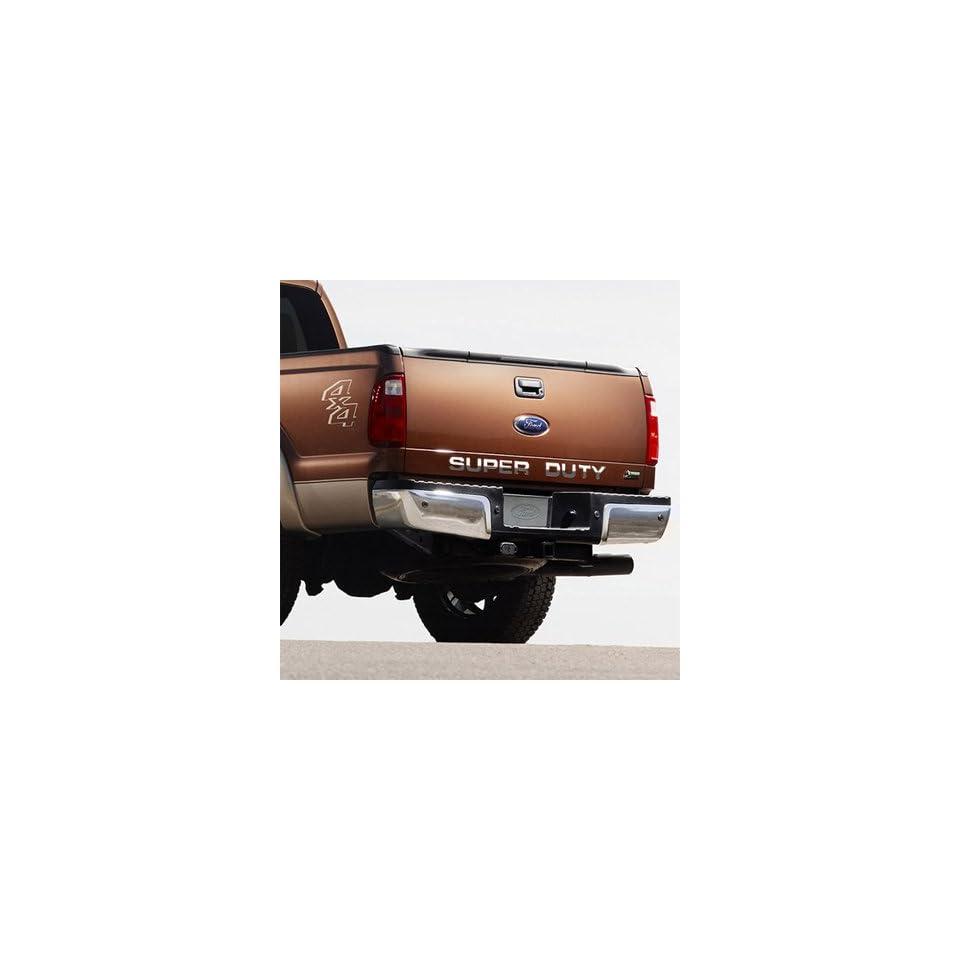 Ford Super Duty Trucks Tail Gate Chrome Letter Insert Automotive
