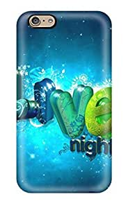 Protection Case For Iphone 6 / Case Cover For Iphone(live Night)