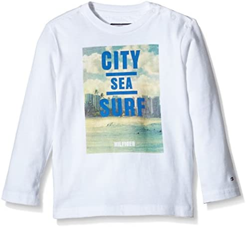 Tommy Hilfiger Jungen Surf Cn Tee L/S Langarmshirt