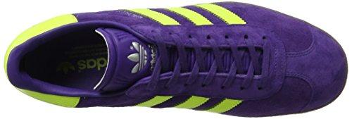 adidas Men's Gazelle Low-Top Sneakers Purple (Unity Purple/Solar Yellow/Gum) 0qf9bXCklJ
