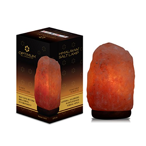 Himalayan Rock Salt Crystal Lamp, (5