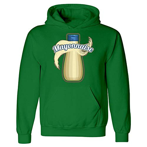 Mayonnaise Condiment Easy Trio Halloween Costume Tshirt - Hoodie Irish Green -