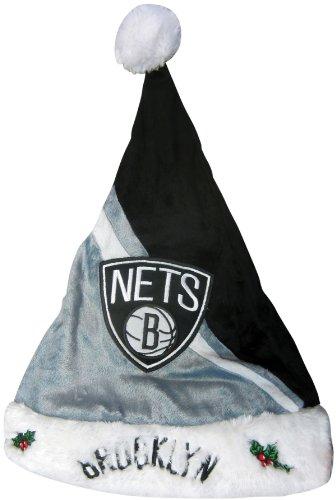 NBA Brooklyn Nets Santa Hat Fits All New Logo