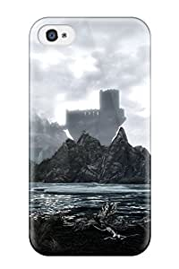David Jose Barton's Shop New Fashionable Cover Case Specially Made For Iphone 4/4s(skyrim) 4098171K22777387