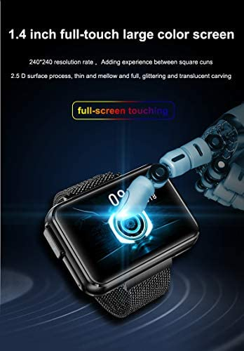 DECWIN Smart Watch Bracelet 2 in 1 TWS Wireless Bluetooth Earbuds 1.4 Inch Heart Rate Blood Pressure Fitness Trackers Wristband Smartwatches Waterproof 8