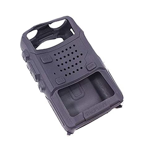 Handheld Soft Rubber Case Portable Silicone Cover Shell for Baofeng UV-5R Series Two Way Radios Walkie Talkie Camouflage