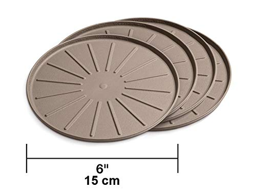"WeatherTech 6"" Coasters Tan - 8A6CSTTN"