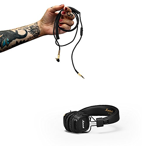 Marshall Major II Bluetooth On-Ear Headphones, Black (4091378)