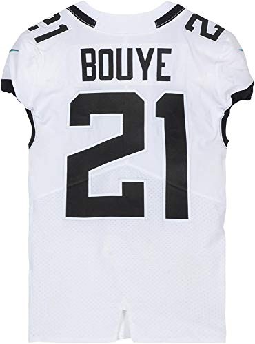A.J. Bouye Jacksonville Jaguars Game-Used White #21 Jersey vs. Miami Dolphins on December 23, 2018 - Fanatics Authentic Certified