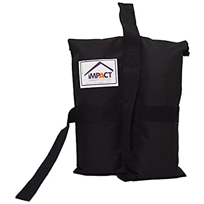 Impact Weight Bags for Pop Up Canopy Tent, Fill with Sand, Rocks or Dirt, Set of 4 : Garden & Outdoor