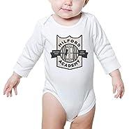 TylerLiu Milford School Milford Man Funny Unisex Baby Boys Girls Onesie Bodysuit Soft Comfortable