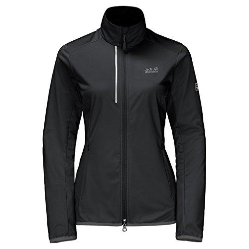 Jack Wolfskin Softshelljacke Cusco Trail Jacket Damen Black X-Large