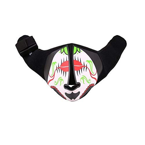 Masks - Halloween Glowing Light Voice Flashing Led Mask Costume Anonymou Funny Dance Carnival - Seller Kitchen Wished Deal Dining Clothing Video Toy Book Game Today S Jewelry - 1PCs]()