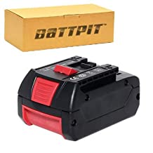 Battpit™ 18V Conventional Lithium-ion Power Tool Battery Replacement for Bosch HDS181-02 (3000mAh/3.0Ah) (Ship from Canada)