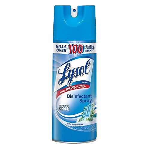 (Lysol Disinfectant Spray, Spring Waterfall, 150oz (12X12.5oz) )