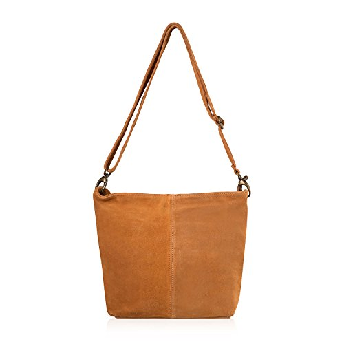 Long Tan Design Trendy Women for Handbag New 2018 Handbag Italian Ladies Women Strap for Hobo Shoulder Latest Bag Stylish Suede for wqznOaORH