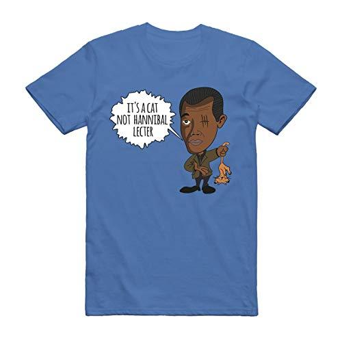 Nick Fury Shirt It's a cat not Hannibal Lecter t-Shirt Marvel Funny Gag Capitan Fanart Gift