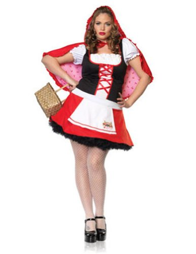 Lil Miss Red Costume - Plus Size 1X/2X - Dress Size 16-20 (Lil Miss Dress Up compare prices)