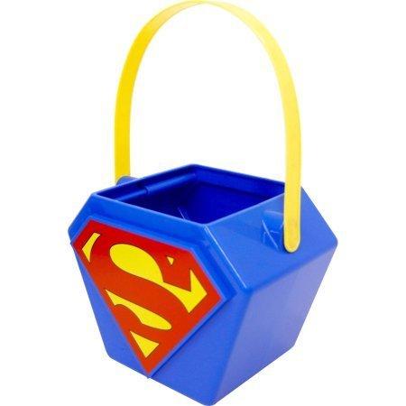 Superman Halloween Candy Pail (Walmart Halloween Candy)