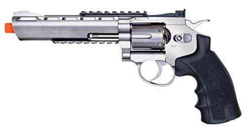 black ops exterminator full metal air revolver, 6 chrome bb(Airsoft Gun) Review
