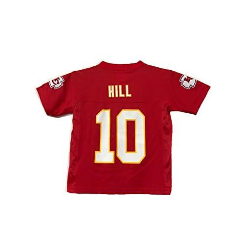 quality design 8ce01 94350 OuterStuff Tyreek Hill Kansas City Chiefs NFL Kids 4-7 Red ...