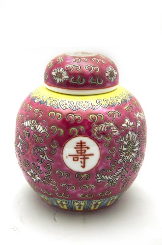 Chinese Porcelain Pearl Ginger Jars 6