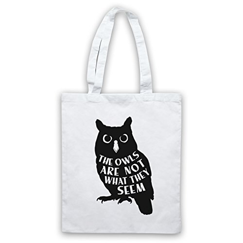 Tote White Inspired Not Are They The Owls Seem Bag What Unofficial Twin Peaks by ZngaZP1