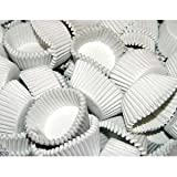 Case of 25,000 White #3 Paper Candy Cups
